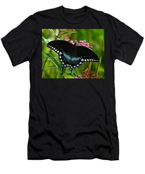Spicebush Swallowtail Din038 Men's T-Shirt (Athletic Fit)