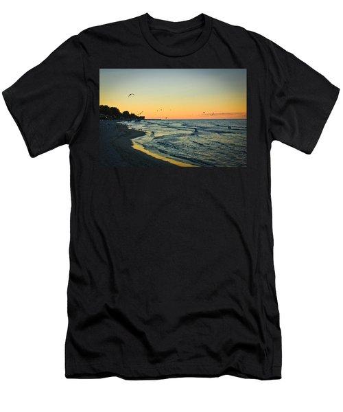 Spirit's Journey Men's T-Shirt (Slim Fit) by Sara Frank