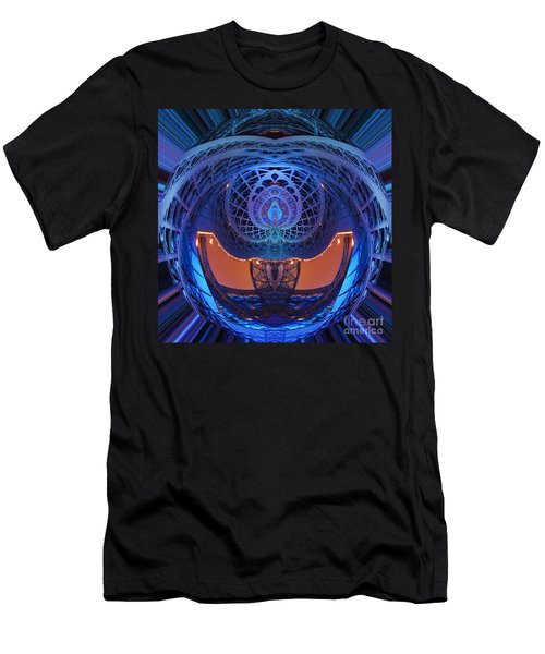 Spirograph Planet Men's T-Shirt (Athletic Fit)