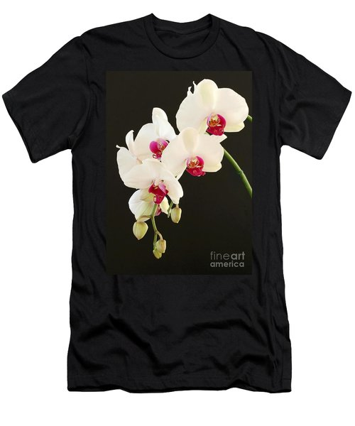 Spray Of White Orchids Men's T-Shirt (Athletic Fit)