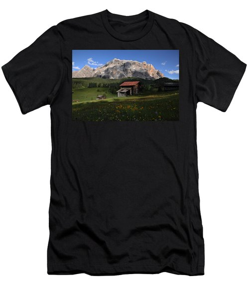 Men's T-Shirt (Slim Fit) featuring the photograph Spring At Santa Croce by Susan Rovira