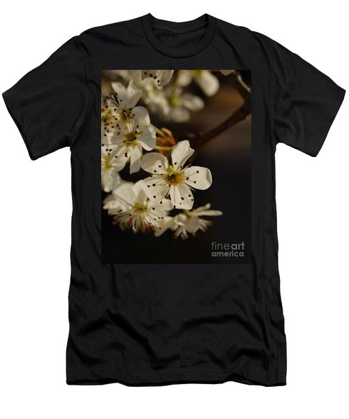 Spring Blossoms I Men's T-Shirt (Athletic Fit)