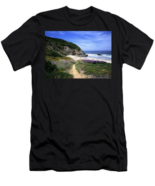Springtime Trail  Dana Point Headlands Men's T-Shirt (Athletic Fit)
