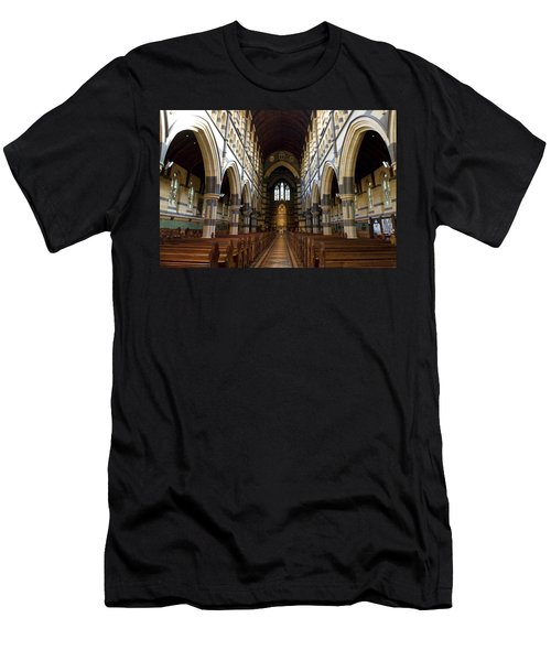 Men's T-Shirt (Slim Fit) featuring the photograph St Pauls Cathedral by Yew Kwang