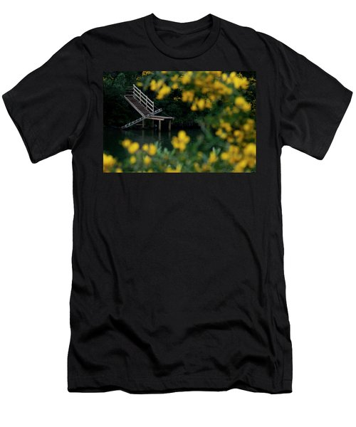 Men's T-Shirt (Slim Fit) featuring the photograph Stairway To Heaven by Pedro Cardona