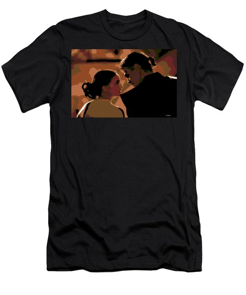 Star Crossed Lovers Men's T-Shirt (Athletic Fit)