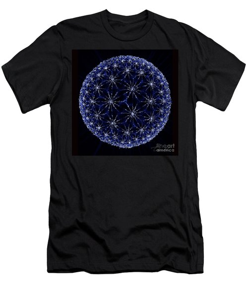 Starry Night Men's T-Shirt (Slim Fit) by Danuta Bennett