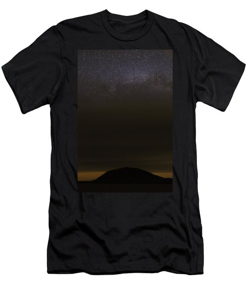 Stars Over Little Spencer Men's T-Shirt (Athletic Fit)