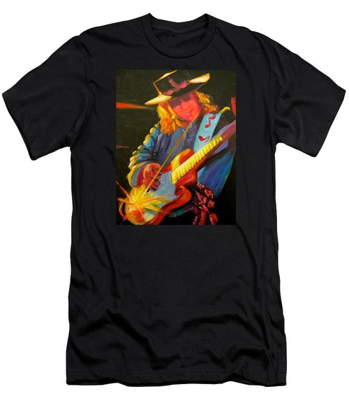 Stevie Ray Vaughn Men's T-Shirt (Athletic Fit)