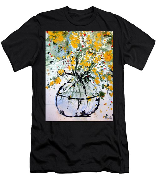 Stop And Smell The Flowers Men's T-Shirt (Athletic Fit)