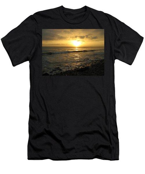 Storm At Sea Men's T-Shirt (Slim Fit) by Bruce Carpenter