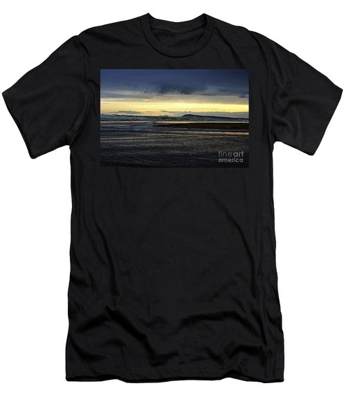 Men's T-Shirt (Slim Fit) featuring the photograph Stormy Morning 2 by Blair Stuart