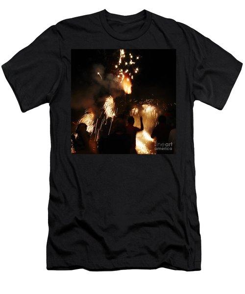 Street Fire Men's T-Shirt (Athletic Fit)