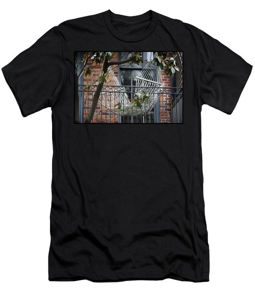 Summertime Livin' In The Big Easy Men's T-Shirt (Athletic Fit)