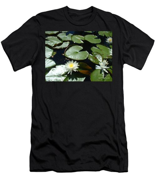 Men's T-Shirt (Slim Fit) featuring the photograph Sun Lovers by Mark Robbins