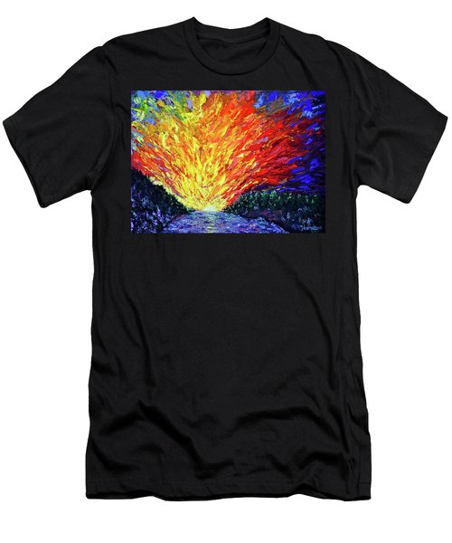 The Second Coming  Men's T-Shirt (Slim Fit) by Stan Hamilton