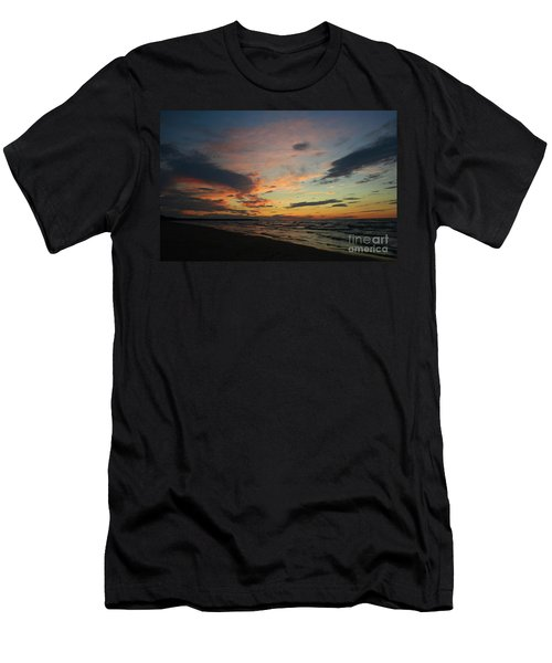 Men's T-Shirt (Slim Fit) featuring the photograph Sundown  by Barbara McMahon