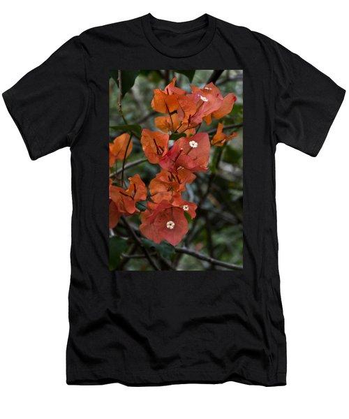 Men's T-Shirt (Slim Fit) featuring the photograph Sundown Orange by Steven Sparks