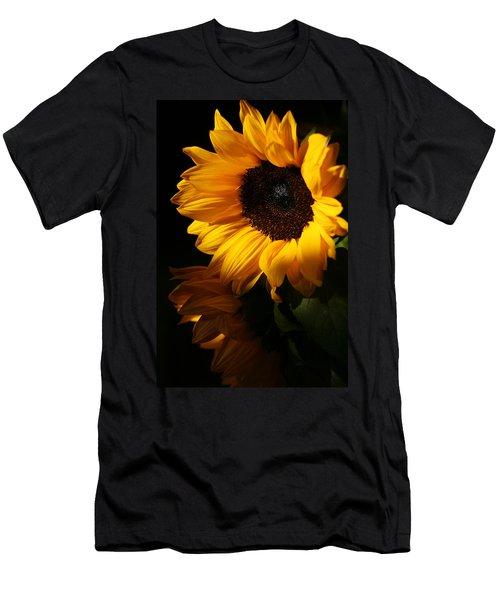 Sunflowers Men's T-Shirt (Slim Fit) by Dorothy Cunningham