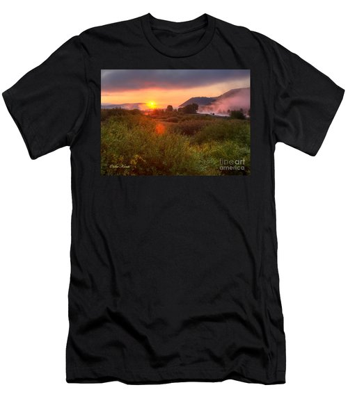 Sunrise At Snake River Men's T-Shirt (Athletic Fit)
