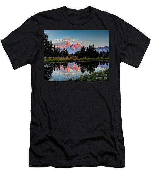 Sunrise On The Tetons Men's T-Shirt (Athletic Fit)
