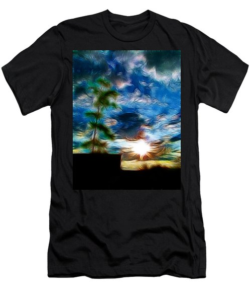 Sunrise Over Smithfield Men's T-Shirt (Athletic Fit)