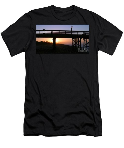 Sunrise Pier Ventura Men's T-Shirt (Athletic Fit)