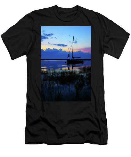 Sunset Calm Men's T-Shirt (Athletic Fit)