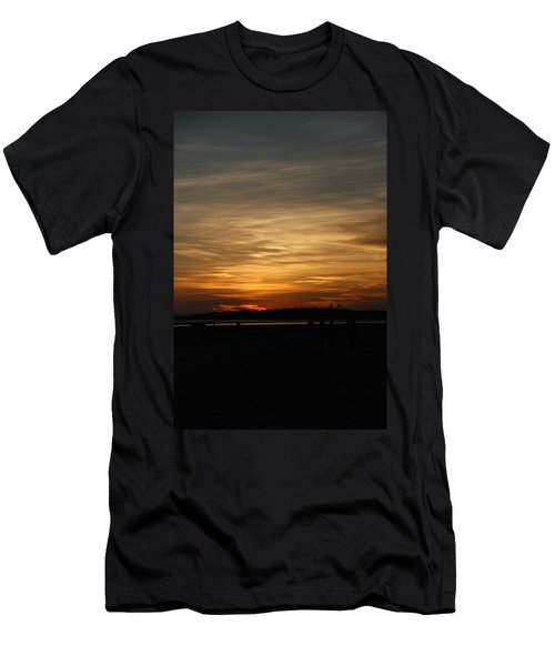 Men's T-Shirt (Slim Fit) featuring the photograph Sunset In Pastels by Fotosas Photography
