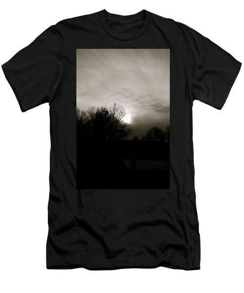 Sunset Men's T-Shirt (Slim Fit) by Kume Bryant
