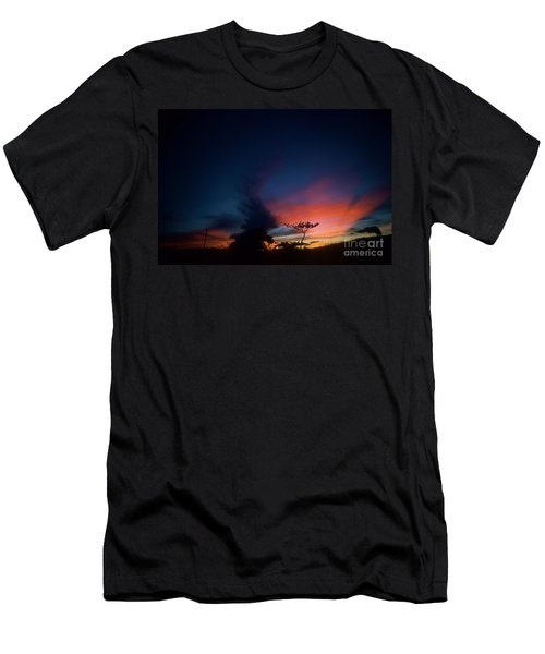 Sunset Leeward Oahu Men's T-Shirt (Athletic Fit)