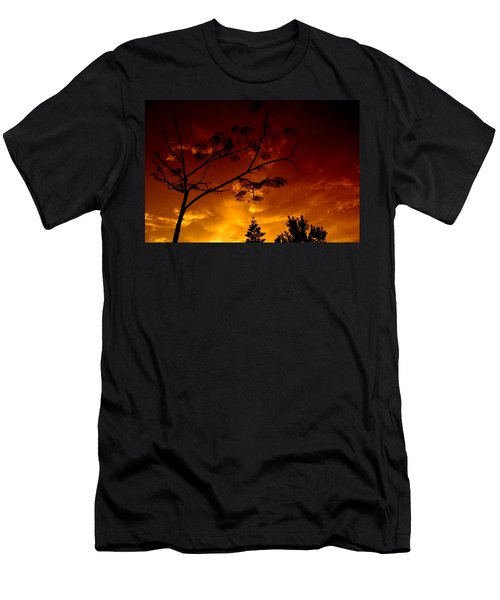 Sunset Over Florida Men's T-Shirt (Athletic Fit)