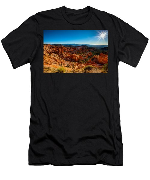 Sunset Sunrise Men's T-Shirt (Athletic Fit)