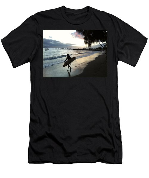 Sunset Surf Men's T-Shirt (Athletic Fit)