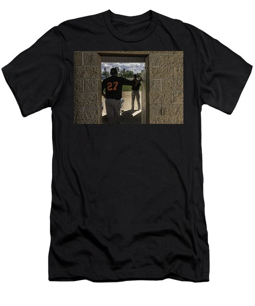 Men's T-Shirt (Slim Fit) featuring the photograph Sunshine And Moondogs by Tom Gort