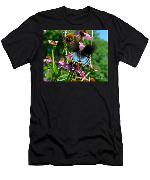 Swallowtail In Motion Men's T-Shirt (Athletic Fit)