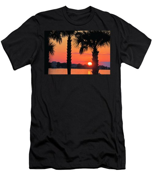 Tangerine Dream Men's T-Shirt (Slim Fit) by Jan Amiss Photography