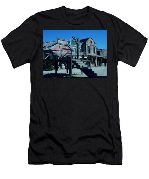 Taverna Western Village In Spain Men's T-Shirt (Athletic Fit)
