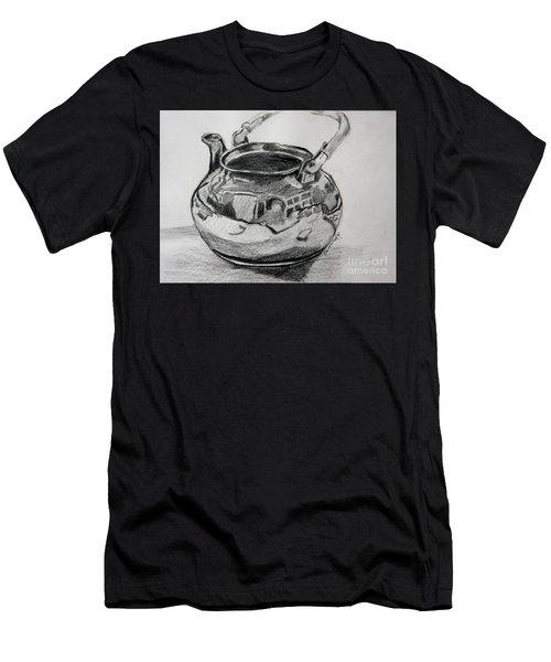 Teapot Reflections Men's T-Shirt (Athletic Fit)