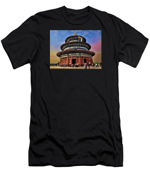 Temple Of Heaven - Beijing China Men's T-Shirt (Athletic Fit)