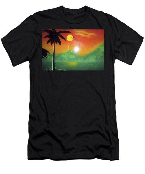 Tequila Sunrise Men's T-Shirt (Athletic Fit)