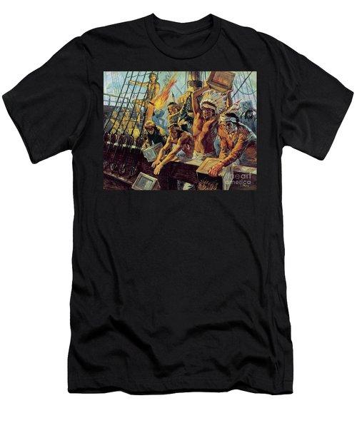 The Boston Tea Party Men's T-Shirt (Athletic Fit)