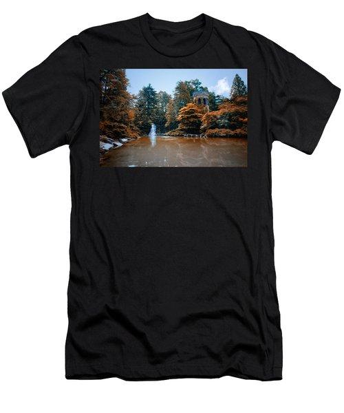 The Castle At Longwood Gardens Men's T-Shirt (Athletic Fit)
