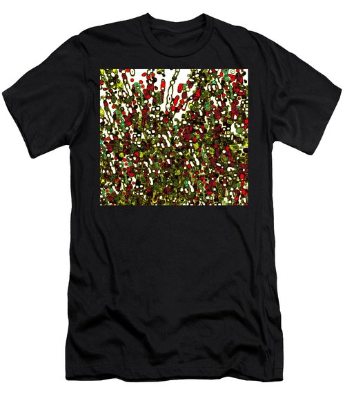 Men's T-Shirt (Athletic Fit) featuring the digital art The Crowd by Mihaela Stancu