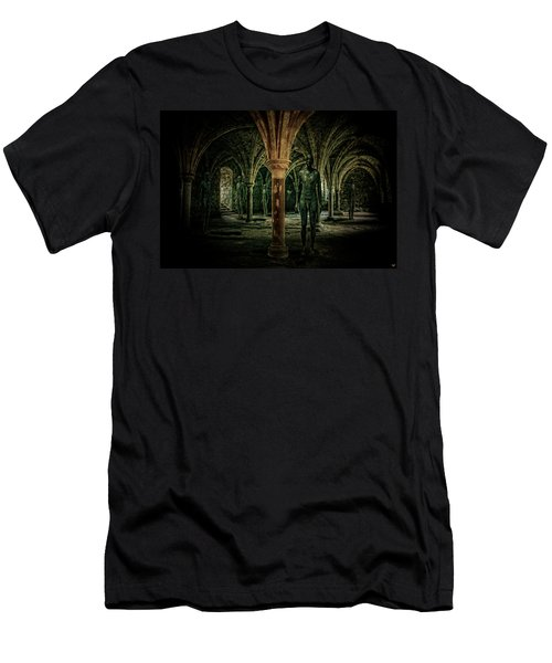 Men's T-Shirt (Slim Fit) featuring the photograph The Crypt by Chris Lord