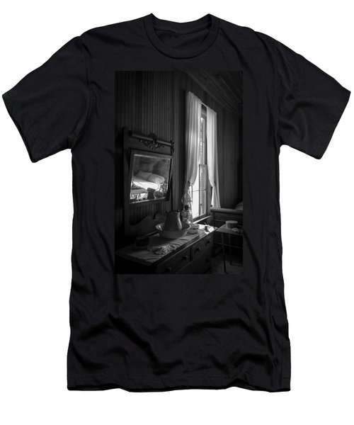 The Empty Bed Men's T-Shirt (Slim Fit) by Lynn Palmer