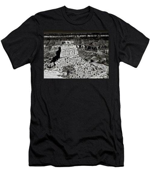 The Grand Canyon Bw Men's T-Shirt (Athletic Fit)