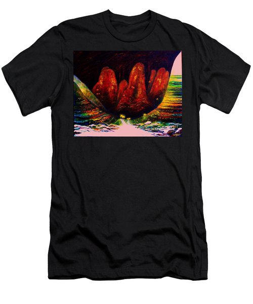 The Ice Cave Men's T-Shirt (Athletic Fit)