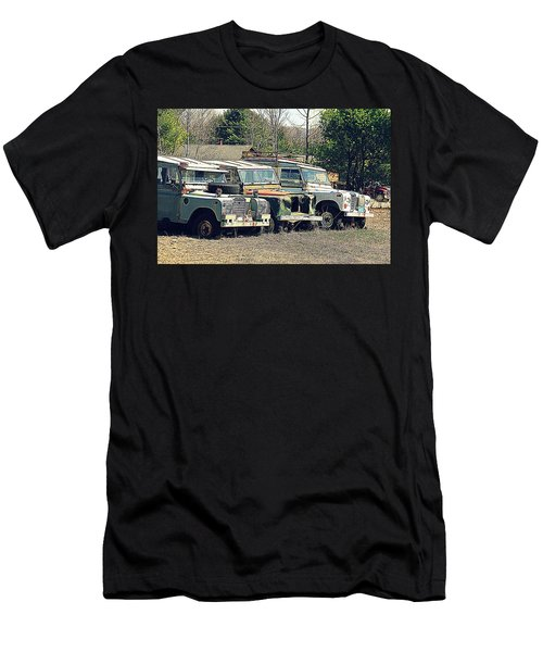 The Land Rover Graveyard Men's T-Shirt (Athletic Fit)