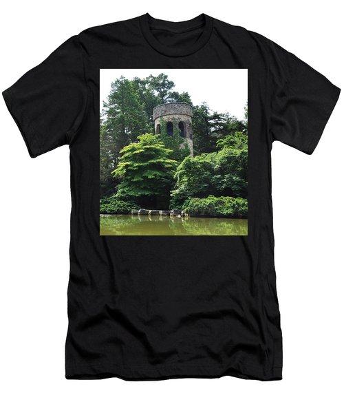 The Longwood Gardens Castle Men's T-Shirt (Athletic Fit)